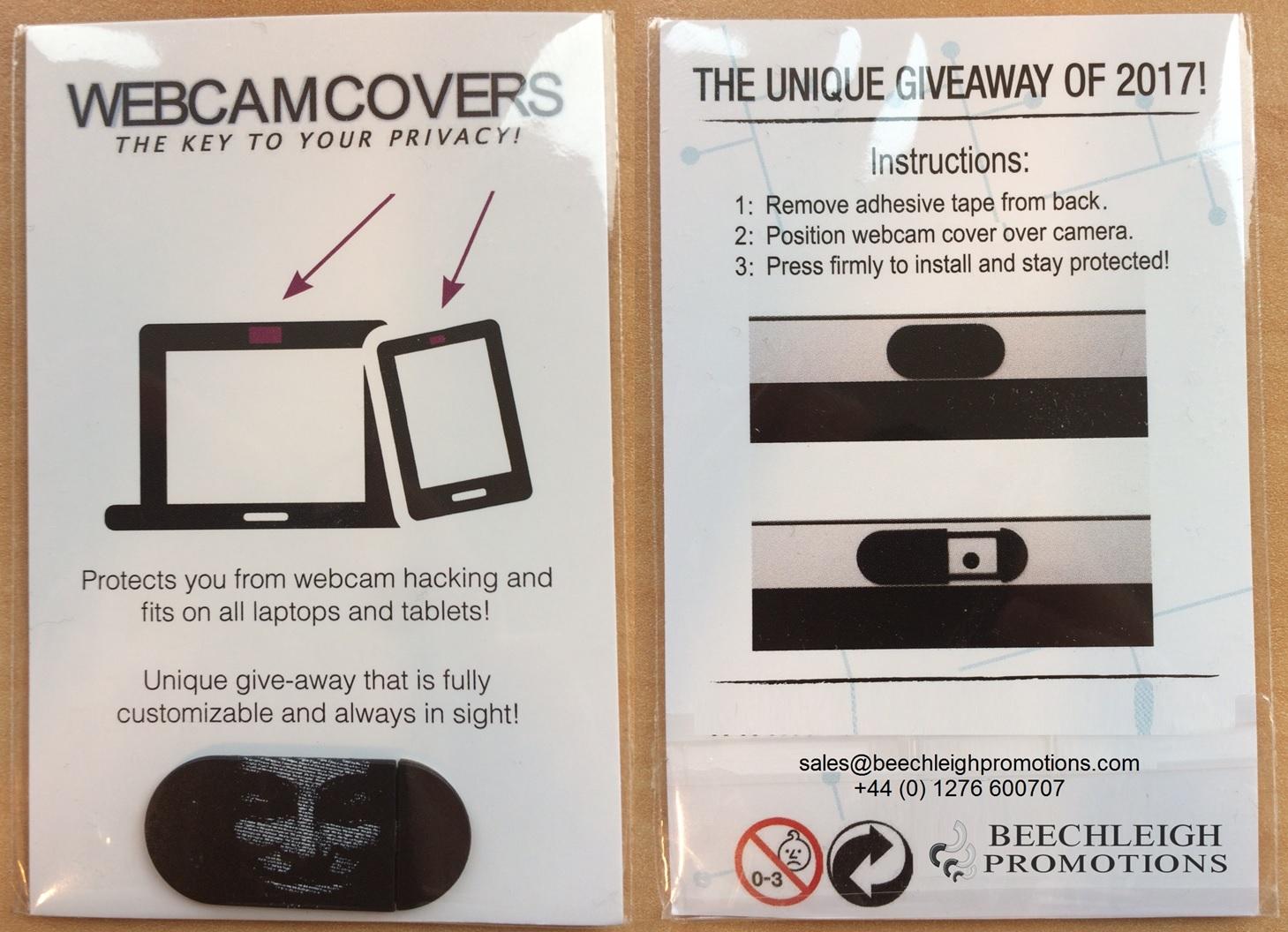 Branded Webcam Covers