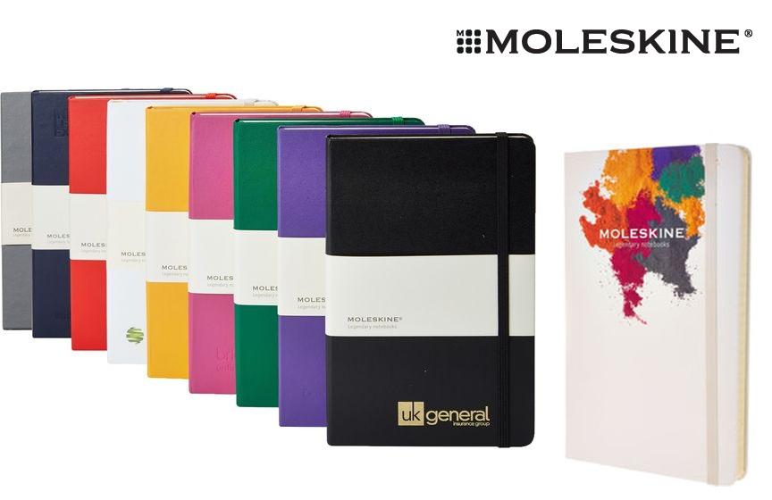 Promotional Moleskine Notebooks