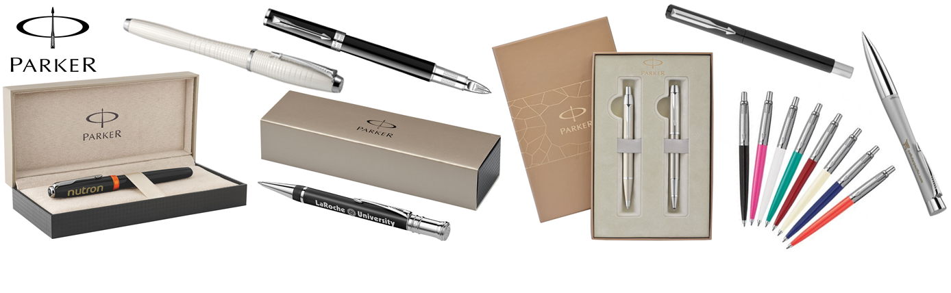 Promotional Parker Pens and rollerballs