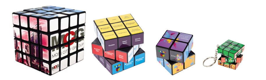 Promotional Rubiks Cubes