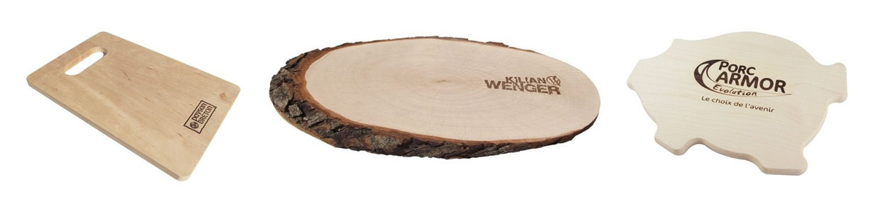 Promotional chopping boards branded with your company logo